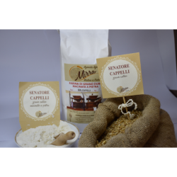 Durum wheat flour senator cappelli kg 1 - Az. Agr. Mirra