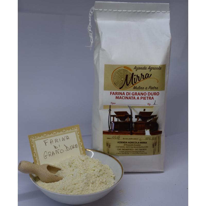 Durum wheat flour kg 5 - Az. Agr. Mirra