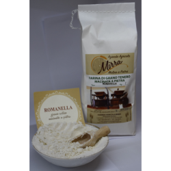 Common wheat flour Romanella   kg 10 - Az. Agr. Mirra