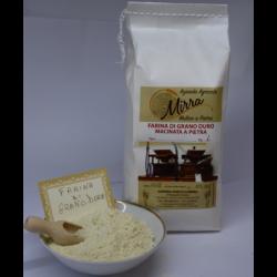 Durum wheat flour kg 10 - Az. Agr. Mirra