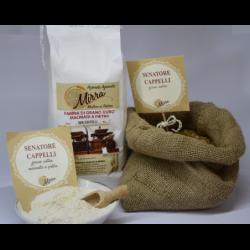 Durum wheat flour senator cappelli kg 10 - Az. Agr. Mirra
