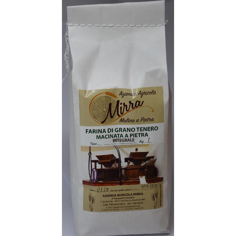 Common wheat flour Tipo 1   kg 25 - Az. Agr. Mirra