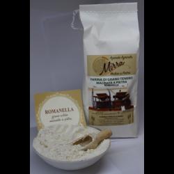 Farina di grano tenero Romanella kg 25 - Az. Agr. Mirra