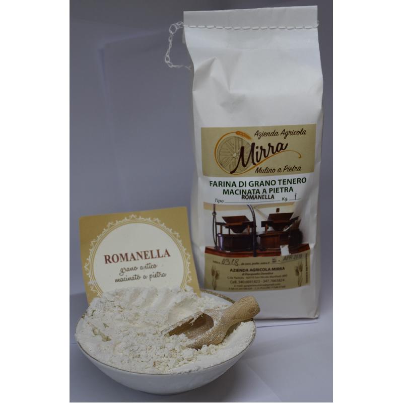 Common wheat flour Romanella   kg 25 - Az. Agr. Mirra