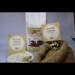Durum wheat flour senator cappelli kg 25 - Az. Agr. Mirra