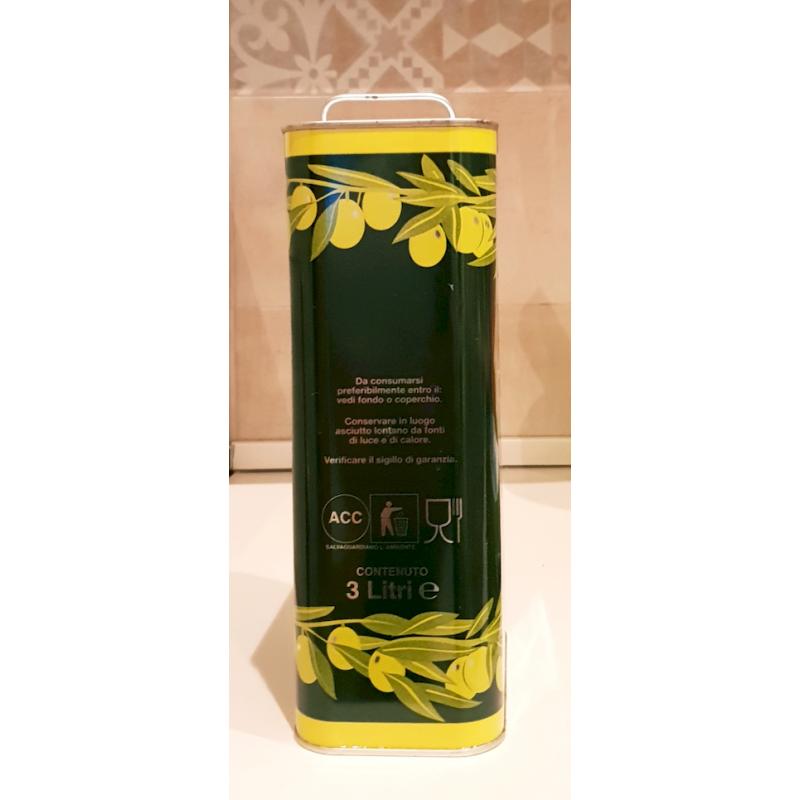 Misto colline laurentine olive oil Lt. 3,0 - Az. Agr. E. Iannotti