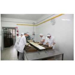 Taralli classici con olio extravergine d'oliva 300 gr fondo quadro - Arte dei Sapori