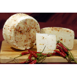 Cow's cheese Peperoncino kg 1,1 approximately - Sanniolat