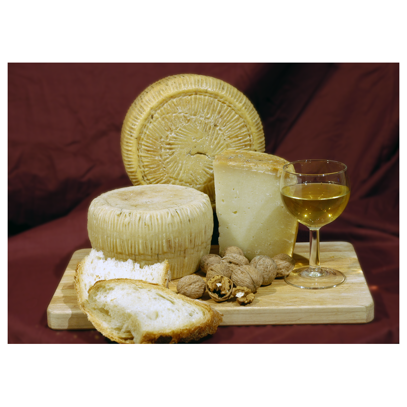 Sheep's cheese semi aged kg 1,1 approximately - Sanniolat