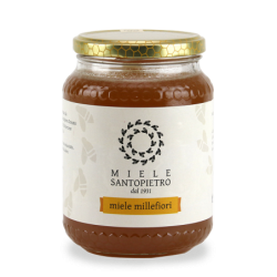 Wildflower honey Gr.130 - Miele Santopietro