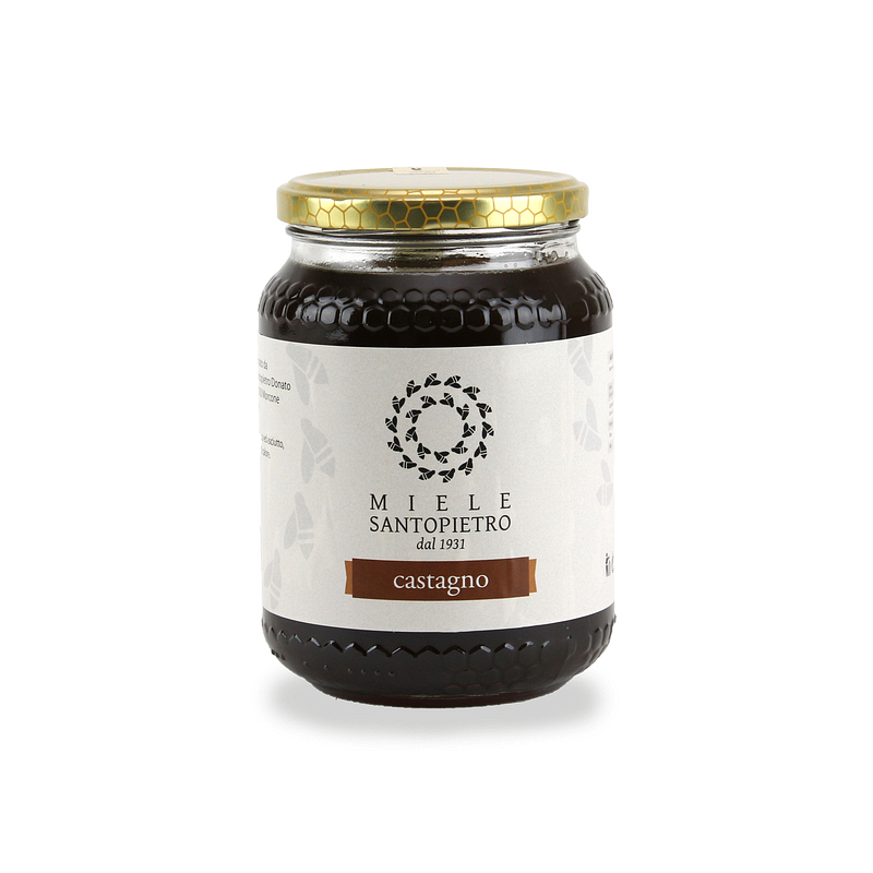 Chestnut honey Gr.500 - Miele Santopietro