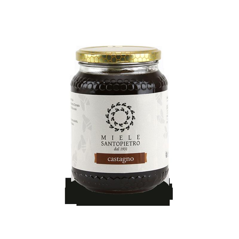 Chestnut honey Gr.130 - Miele Santopietro