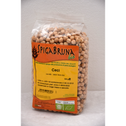 Organic chickpea 500g - SpigaBruna Bio