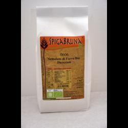 Organic spelt Semolato 1kg - SpigaBruna Bio