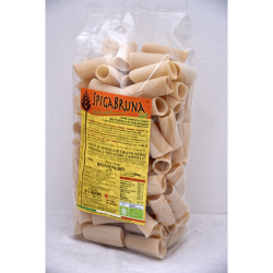 Organic artisanal pasta Rigatoni Bio 500g Linea ELETTA - SpigaBruna Bio
