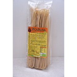 Organic artisanal pasta Spaghettoni Napoletani Bio 500g Linea ELETTA - SpigaBruna Bio