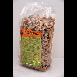 Organic artisanal wholemeal flour pasta Riccioli Bio 500g Linea SALUTE INTEGRALE - SpigaBruna Bio