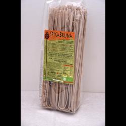 Organic artisanal wholemeal flour pasta Spaghetti Bio 500g Linea SALUTE INTEGRALE - SpigaBruna Bio
