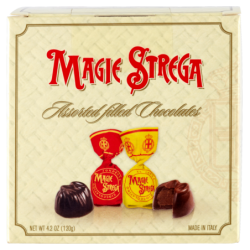Magie Strega Latte e Fondente 120g - Strega Alberti