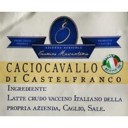 Caciocavallo stagionato 120gg - spicchio 250gr ca - Marcantonio
