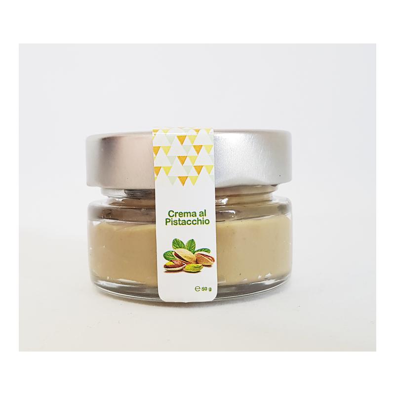 Crema al pistacchio - vaso in vetro da 50g - Sodano