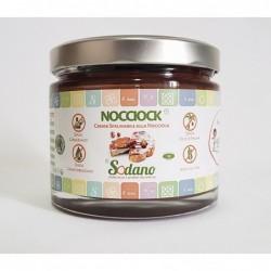 Nocciock - vaso in vetro da 600g - Sodano