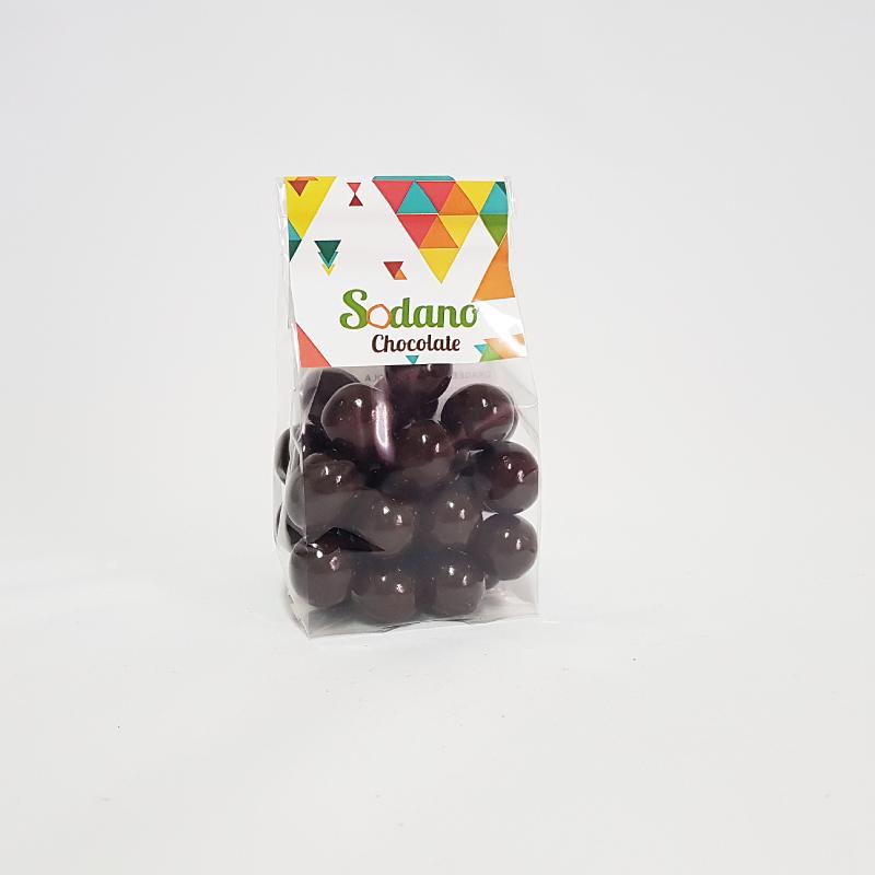Dragèes Nocciola cioccolato fondente - Busta da 90g - Sodano
