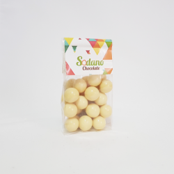 Dragèes Amarena cioccolato bianco - Busta da 180g - Sodano
