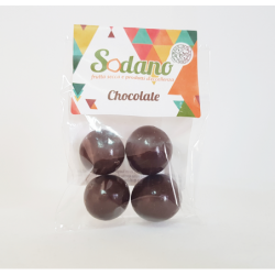 Dragèes Amarena cioccolato fondente - Busta da 20g - Sodano
