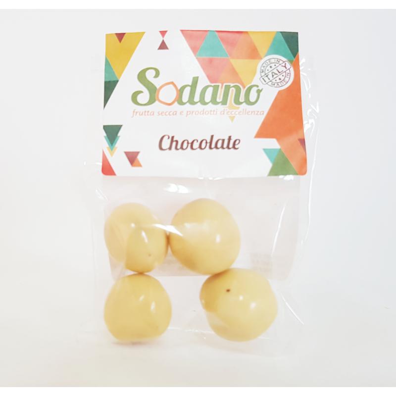 Dragèes Amarena cioccolato bianco - Busta da 20g - Sodano