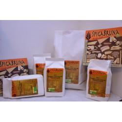 Organic Cappelli durum flour Semolato 5kg - SpigaBruna Bio