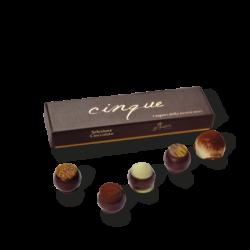 """Cioccolatini artigianali assortiti """"cinque"""""""