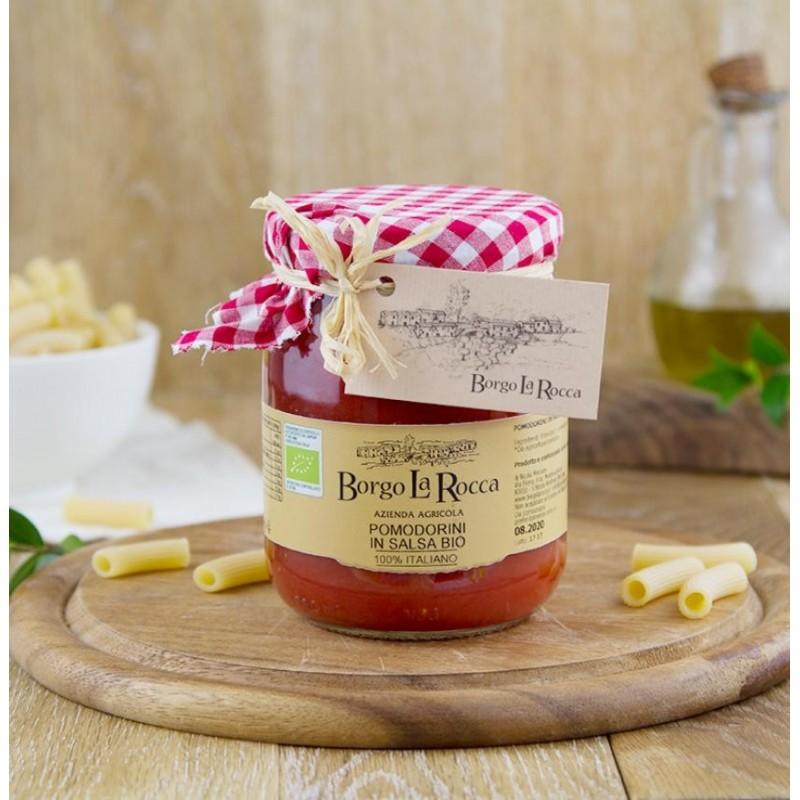 Pomodorini in salsa Bio gr 520 - Borgo La Rocca