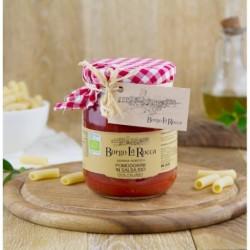 Pomodorini in salsa Bio (senza stoffa copritappo) gr 520 - Borgo La Rocca