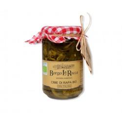 Cime di rapa sott'olio Bio gr 295 - Borgo La Rocca