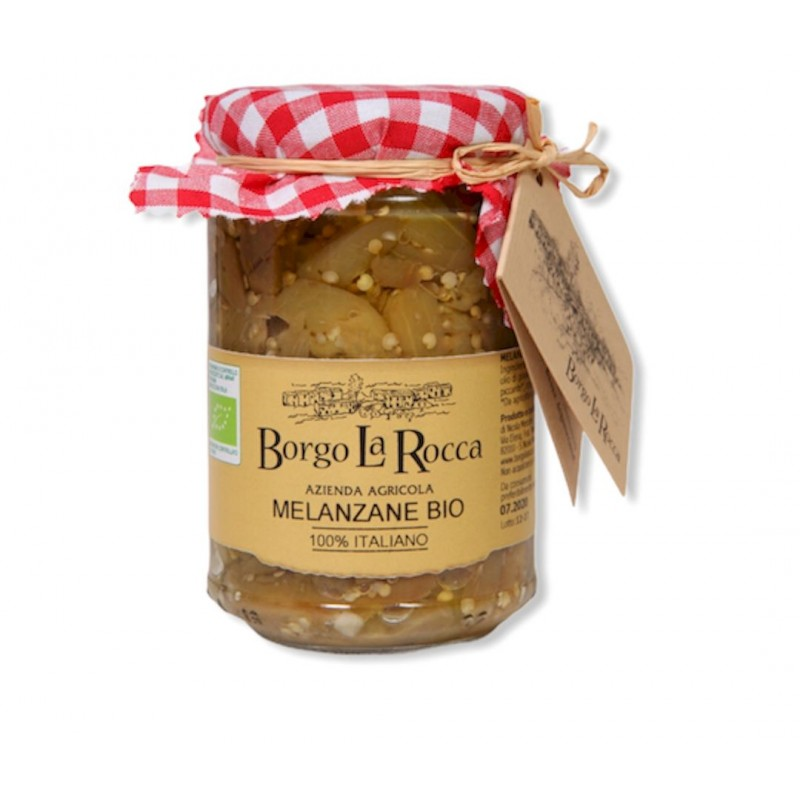Melanzane sott'olio Bio gr 295 - Borgo La Rocca