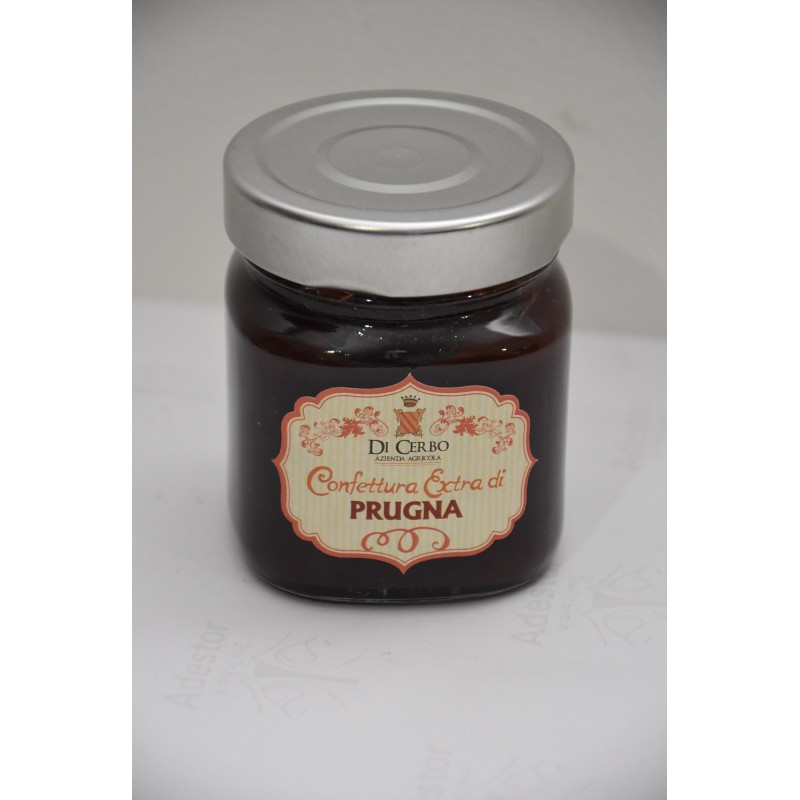 Confettura Extra di Prugna 200 gr - Az. Agr. Di Cerbo